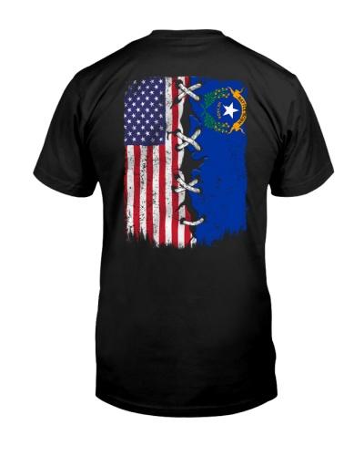 Nevada and American flag 0037