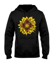 Sunflower New Mexico flag uyen 0037 Hooded Sweatshirt front