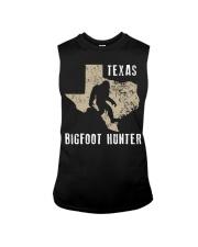 Texas Bigfoot Hunter Sleeveless Tee thumbnail