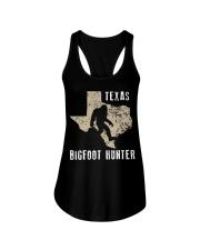Texas Bigfoot Hunter Ladies Flowy Tank thumbnail