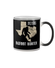 Texas Bigfoot Hunter Color Changing Mug thumbnail