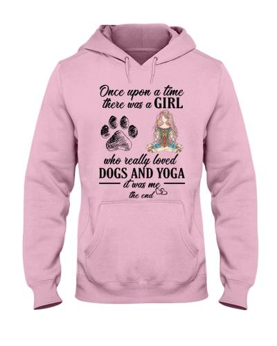 Yoga once upon girl