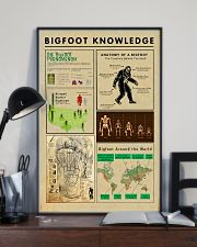 Bigfoot Knowledge - sale off 11x17 Poster lifestyle-poster-2