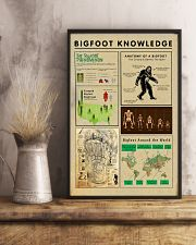 Bigfoot Knowledge - sale off 11x17 Poster lifestyle-poster-3