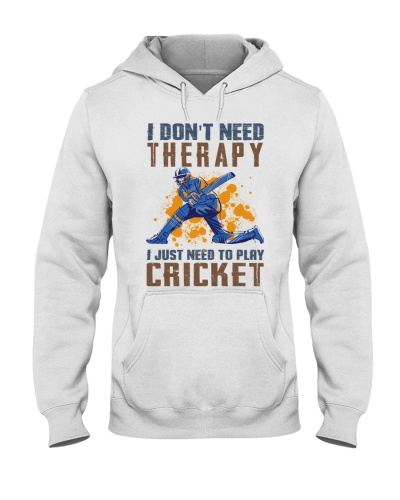 I don't need therapy - cricket