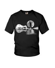 igfoot Rock And Roll Guitar Lake Shadow Musician Youth T-Shirt thumbnail