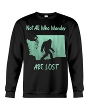 Not All Who Wander Are Lost - Washington Crewneck Sweatshirt thumbnail