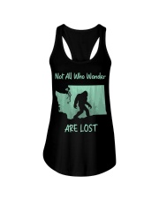 Not All Who Wander Are Lost - Washington Ladies Flowy Tank thumbnail