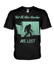 Not All Who Wander Are Lost - Washington V-Neck T-Shirt thumbnail