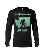 Not All Who Wander Are Lost - Washington Long Sleeve Tee thumbnail