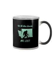 Not All Who Wander Are Lost - Washington Color Changing Mug thumbnail