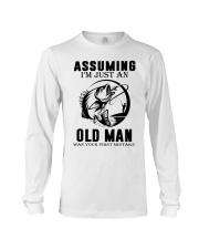 fishing old man Long Sleeve Tee thumbnail