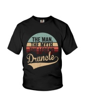 The Man The Myth The Legend Druncle Youth T-Shirt thumbnail