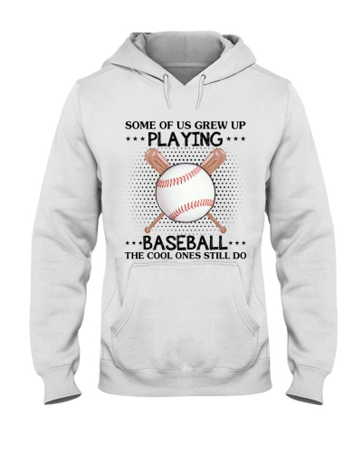 some of us grew up playing baseball