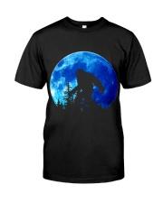 Bigfoot and blue moon Classic T-Shirt thumbnail