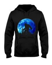 Bigfoot and blue moon Hooded Sweatshirt front