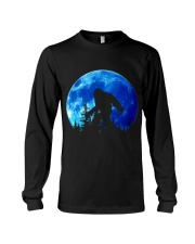 Bigfoot and blue moon Long Sleeve Tee thumbnail