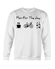 cycling coffe and wine Crewneck Sweatshirt thumbnail