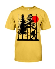 Bigfoot Hiding in Forest Classic T-Shirt thumbnail