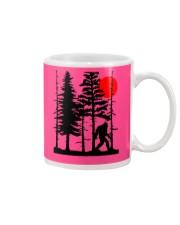 Bigfoot Hiding in Forest Mug thumbnail