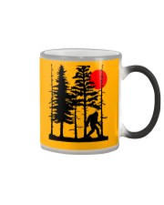 Bigfoot Hiding in Forest Color Changing Mug thumbnail