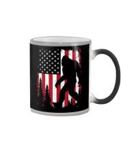 Bigfoot  American USA Flag Color Changing Mug thumbnail