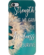 Strength is what we gain - madness Phone Case i-phone-7-case