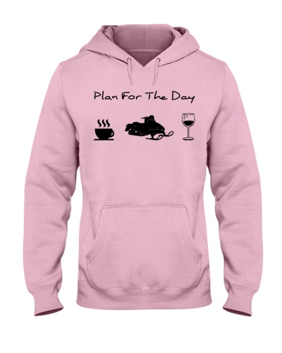 Snowmobile plan for the day