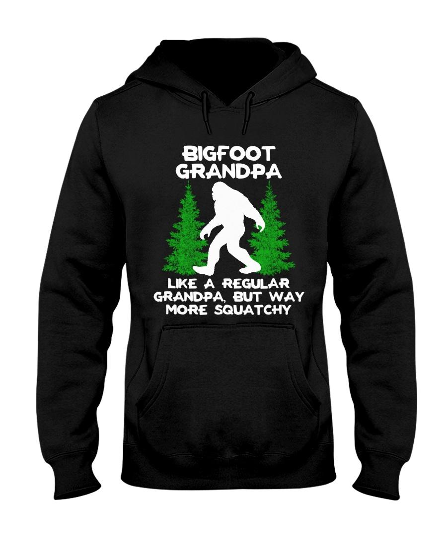 Bigfoot Grandpa Hooded Sweatshirt
