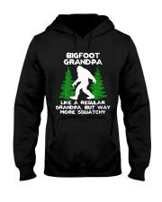 Bigfoot Grandpa Hooded Sweatshirt front