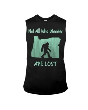 Not All Who Wander Are Lost - Oregon Sleeveless Tee thumbnail