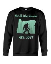Not All Who Wander Are Lost - Oregon Crewneck Sweatshirt thumbnail