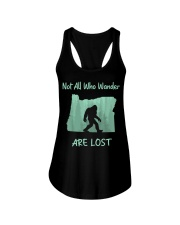 Not All Who Wander Are Lost - Oregon Ladies Flowy Tank thumbnail