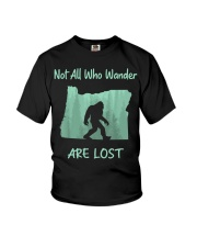 Not All Who Wander Are Lost - Oregon Youth T-Shirt thumbnail