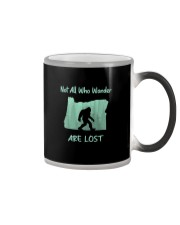 Not All Who Wander Are Lost - Oregon Color Changing Mug thumbnail