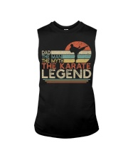 Dad The Man The Myth The Legend - Karate Sleeveless Tee thumbnail