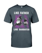 Like father like daughter snowmobile Classic T-Shirt thumbnail