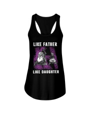 Like father like daughter snowmobile Ladies Flowy Tank thumbnail