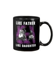 Like father like daughter snowmobile Mug thumbnail