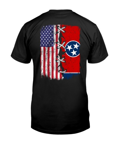 Tennessee and American flag 0037