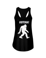 Bigfoot gotcha Ladies Flowy Tank thumbnail