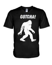 Bigfoot gotcha V-Neck T-Shirt thumbnail