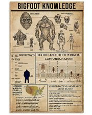 Bigfoot and other 11x17 Poster front
