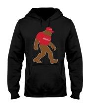 Bigfoot Maga Hooded Sweatshirt front