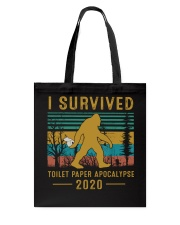 I survived Toilet paper apocalypse Tote Bag thumbnail