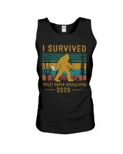 I survived Toilet paper apocalypse Unisex Tank thumbnail
