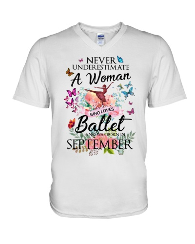 A Woman Who Loves Ballet And Born In September
