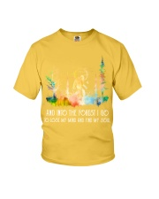 And Into the Forest I Go To Lose My Mind Youth T-Shirt thumbnail