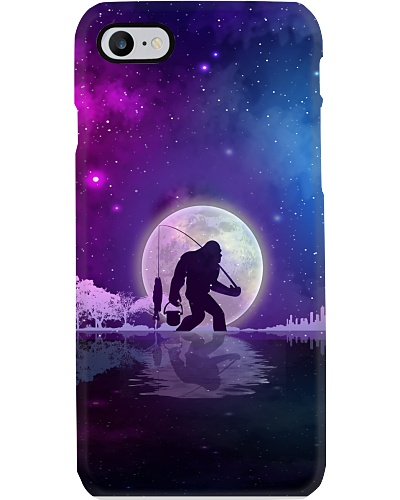 Bigfoot go fishing phone