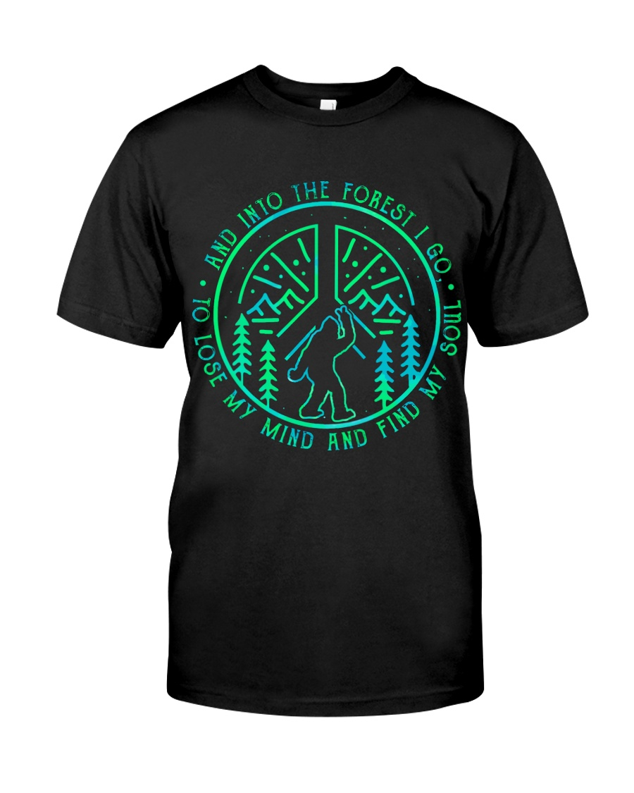 Into The Forest Bigfoot Classic T-Shirt